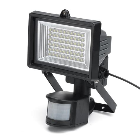 solar powered motion detector flood lights solar powered led flood light motion detection