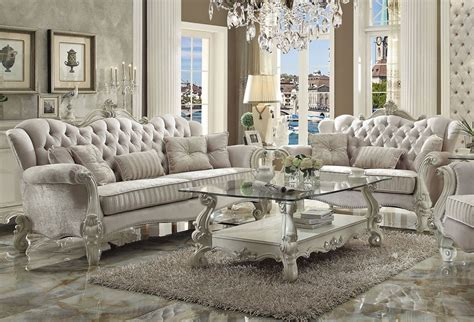 Living Room Furniture Styles Leonie Style Living Room Furniture