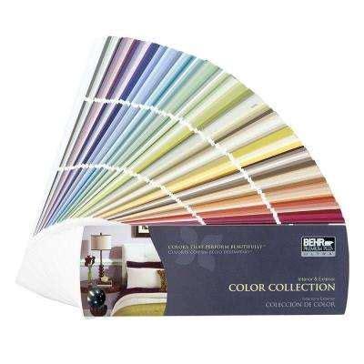 color chips fan decks interior paint  home depot