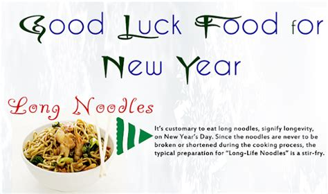 new year food luck luck food for new year infographic visualistan