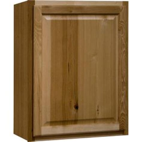 home depot hickory cabinets hton bay hton assembled 24x30x12 in wall kitchen