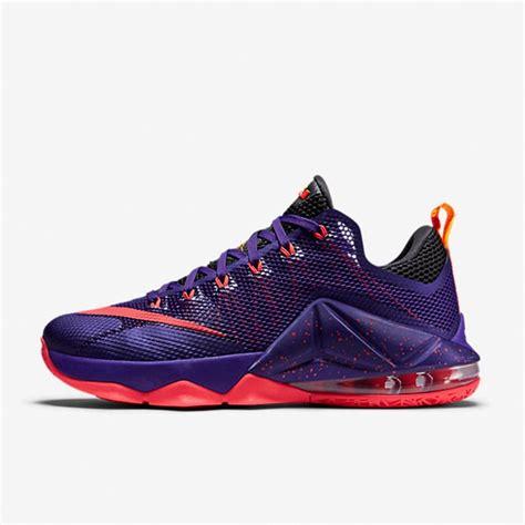 Sepatu Nike 9 Low Purple jual sepatu basket nike lebron 12 low court purple