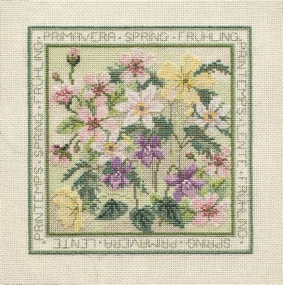 All Seasons Duvets Counted Cross Stitch Four Seasons Spring Daily Express