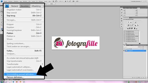 Tutorial Website Maken Photoshop | tutorial watermerk over je foto s in photoshop
