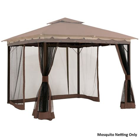 gazebos with curtains nets 10 x 12 mosquito netting for gazebo canopy ebay