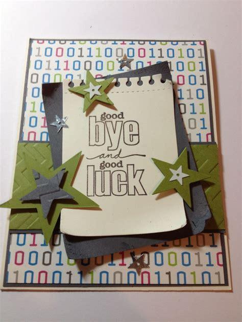 Handmade Farewell Gift Ideas - 25 best ideas about farewell card on goodbye