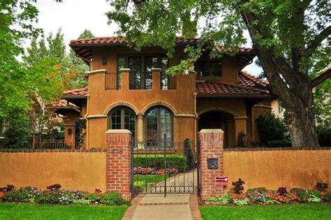 denver s single family homes by decade 1990s denverurbanism blog exterior landscaping ideas
