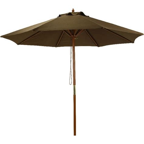 Brown Patio Umbrella 7 5 Market Patio Umbrella Brown Canopy