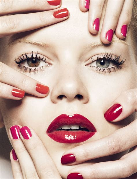 Lip Manicure matching nail and lipstick combinations nail colors for 2015