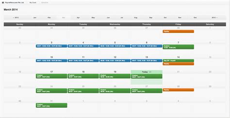 Wtamu Mba Course Schedule by Create Your Schedule With Payrollhero Easily And Efficiently
