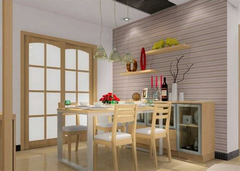 desain ruang makan minimalis ukuran kecil nirwana deco jogja