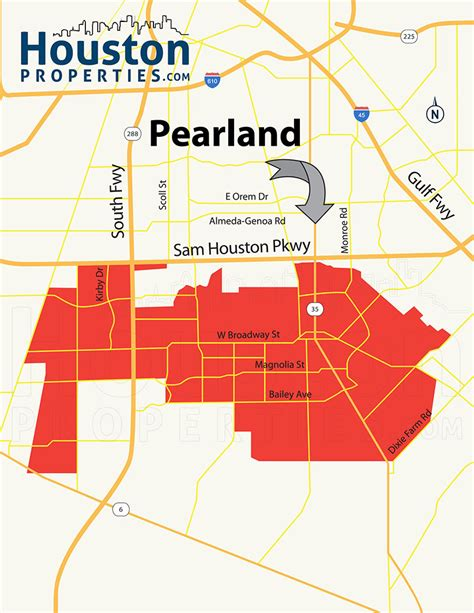 map pearland texas pearland neighborhood real estate homes for sale guide