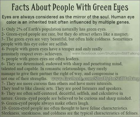 facts about the color green 17 best green eye quotes on pinterest his smile quotes