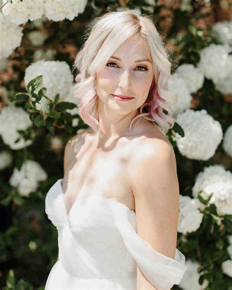 modern wedding hairstyles for the cool contemporary martha stewart weddings