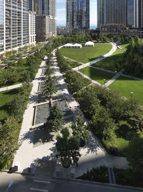 Landscape Architecture Illinois Gallery Of The Park At Lakeshore East The Office Of