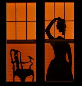 Old Door Decor 35 Ideas To Decorate Windows With Silhouettes On Halloween