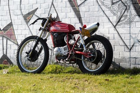 1978 Suzuki Sp370 Custom Suzuki Sp370 Shed Built Bikes Bikermetric