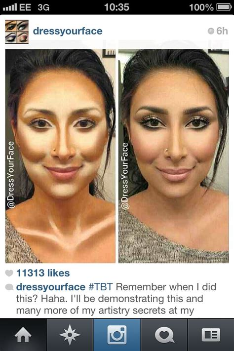 contouring tutorial instagram instagram contour and highlight how to fitness and