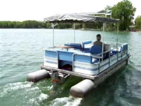 pontoon boat battery keeps dying solar pontoon boat youtube