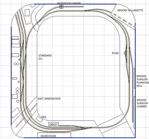 layout design ho scale 193 best images about model rr layouts on pinterest