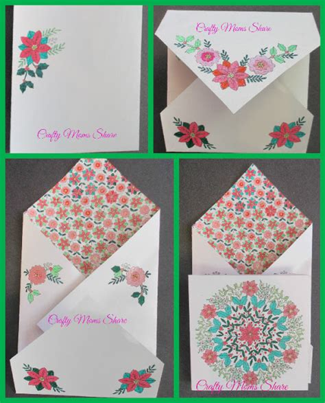 coloring book of cards and envelopes crafty the coloring book of cards and