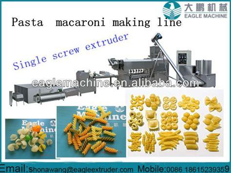 Macaroni Spiral By Macaroni Factory extruded shape pasta macaroni processing machinery