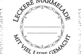 Etiketten Wm Marmelade by Marmelade H 252 Bsch Verpackt Etiketten