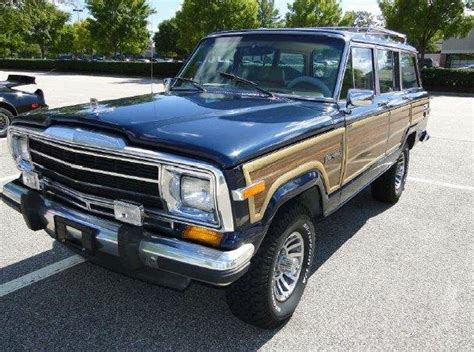 1988 Jeep For Sale 1988 Jeep Grand Wagoneer For Sale 1847249 Hemmings