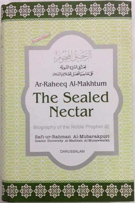 the sealed nectar ar raheeq al makhtum english price