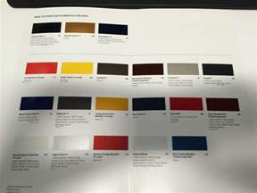 Ford Paint Colors Leaked 2016 Ford Mustang Paint Colors The Mustang