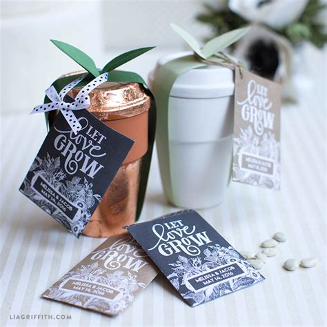Wedding Favors Seeds by Seed Packet Wedding Favors Lia Griffith