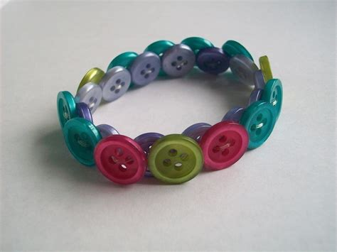 Button Bracelet · A Button Bracelet · Jewelry Making on Cut Out   Keep