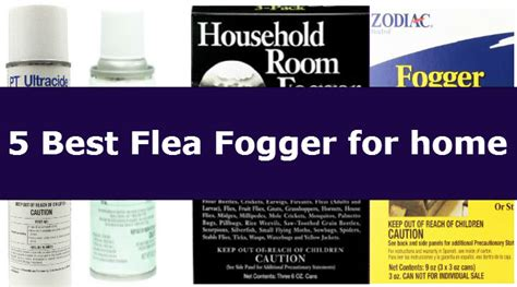 5 best flea bombs 2018 how to use it the right way