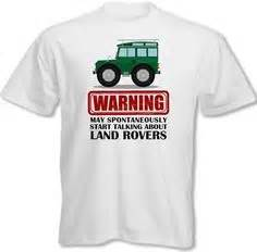 Kaos Jeep Series To My Jeep land rover driver shirt land rover