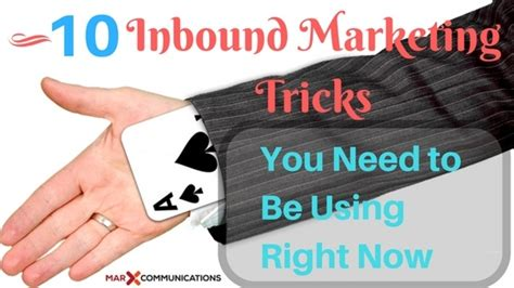 10 Tricks You Need To by 10 Expert B2b Inbound Marketing Tricks You Need To Be