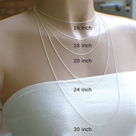 18 in necklace 18 inch rope chain necklace
