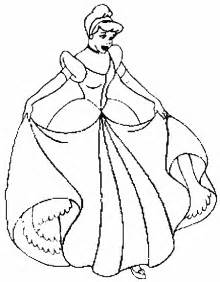 cinderela coloring pages gift ideas blog