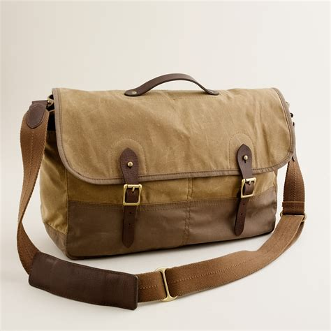 j crew abingdon messenger bag in for lyst