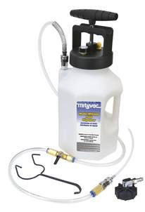 Mityvac Pressure Brake Bleeder System Mityvac Brake And Clutch Bleeding Equipment