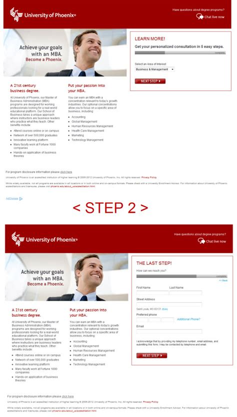 U Of U Mba Application Login by 5 Experts Critique A Of Landing Page