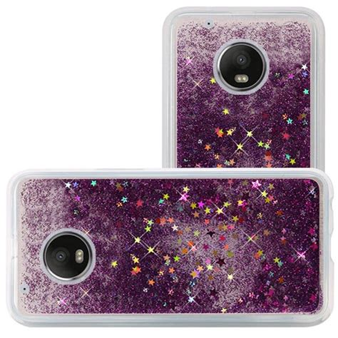 Hardcase Sparkle Glitter Water for motorola moto g5 plus liquid glitter shiny water design cover ebay