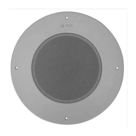 Ceiling Speaker Merk Toa toa pc 580ru 5 watt 8 inch ceiling paging speaker