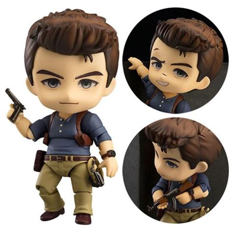 uncharted 4 figure uncharted 4 nathan nendoroid figure