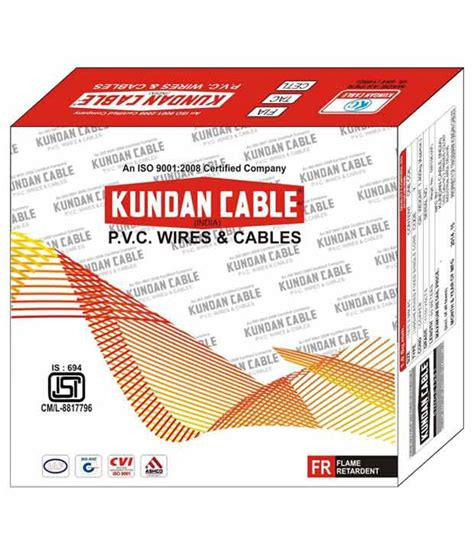 Jainson Cable 3 10 Sqmm buy kundan cable 1 sqmm electrical multistrand wire