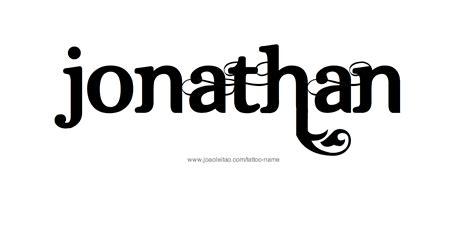 tattoo ideas for the name jonathan jonathan name tattoo designs