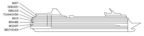msc sinfonia low cost cabin piani nave msc sinfonia