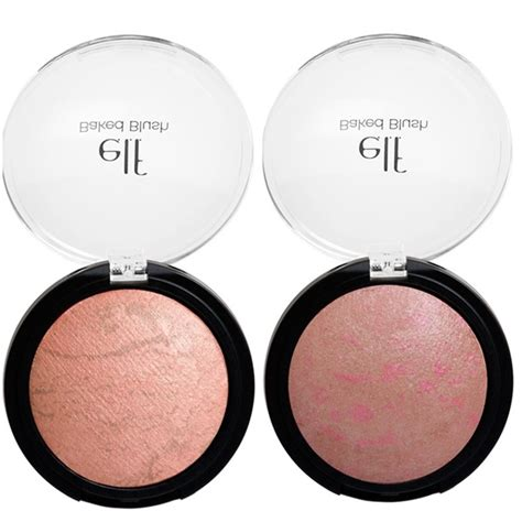 E L F Studio Baked Blush e l f studio baked eyeshadow and baked blush musings of