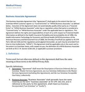 hipaa business associate agreement template sle business associates agreement 7 free documents