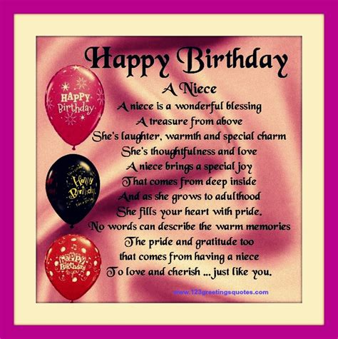 Birthday Quotes For My Happy Birthday Quotes For Niece Birthday Quotes