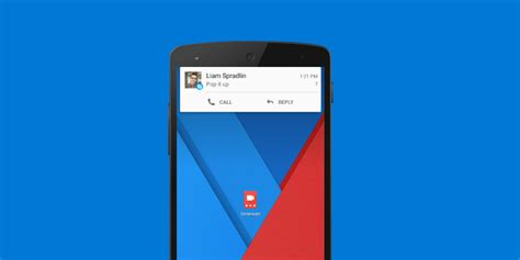 android skype skype for android gets updated with support for heads up notifications websetnet